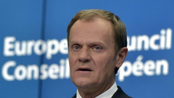 Tusk zveřejnil návrh dohody o změnách vztahů Británie a EU.