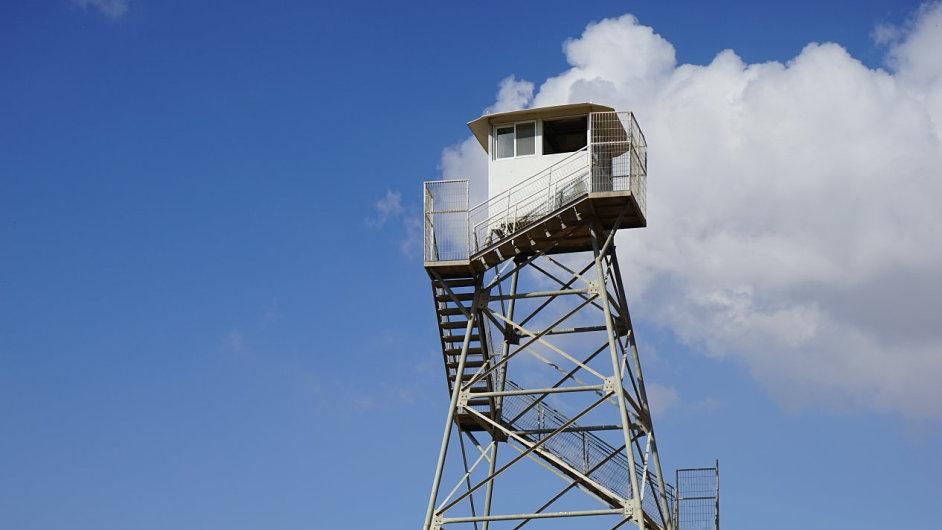 Strážní věž. Ilustrační foto