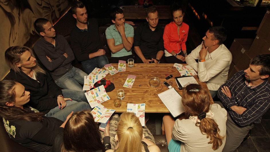 Účastníci školení z baru El Mágico