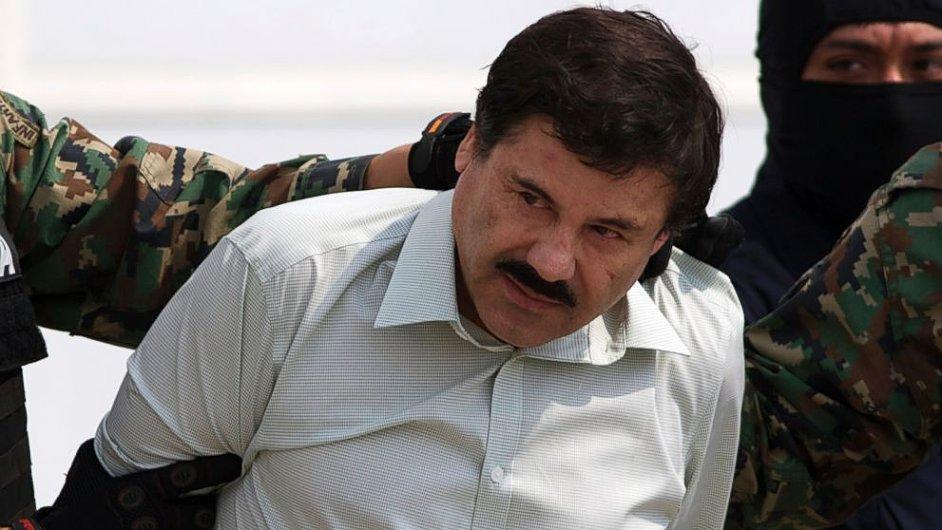 Joaquín Guzmán, šéf mexického drogového kartelu Sinaloa