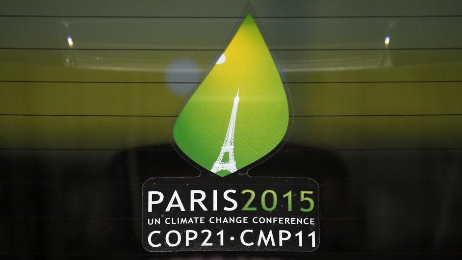 Logo klimatické konference COP 21.