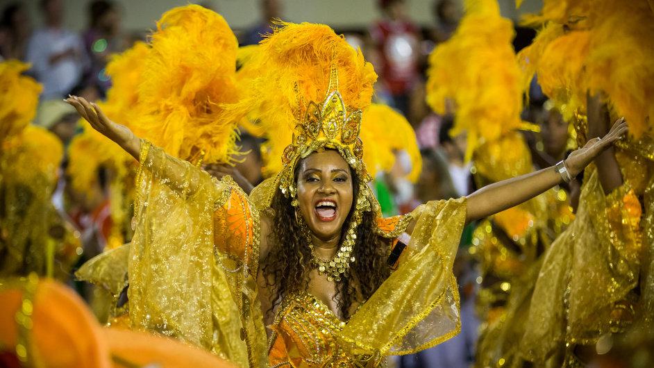 Velkolepou soutěž samby každoročně doplňují stovky pouličních slavností. - Ilustrační foto