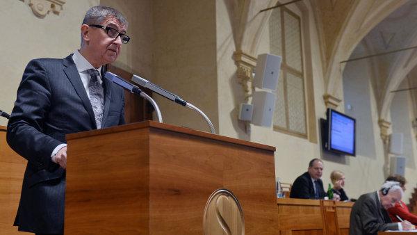 Ministr financí Andrej Babiš s rozhodnutím Senátu nesouhlasil.