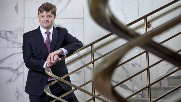 Martin Janeček, ředitel Generálního finančního ředitelství.