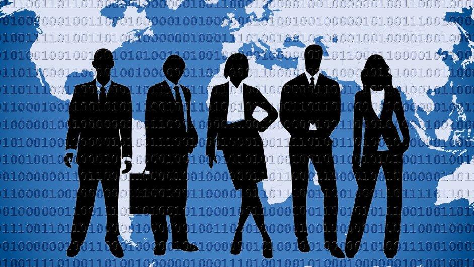 Advokacie a život na síti, ilustrace