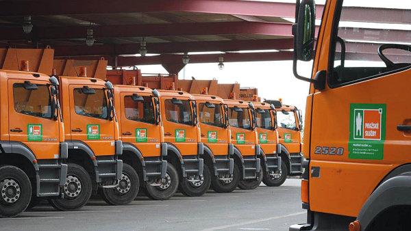 Pražské služby zpracovávají většinu komunálního odpadu v hlavním městě.