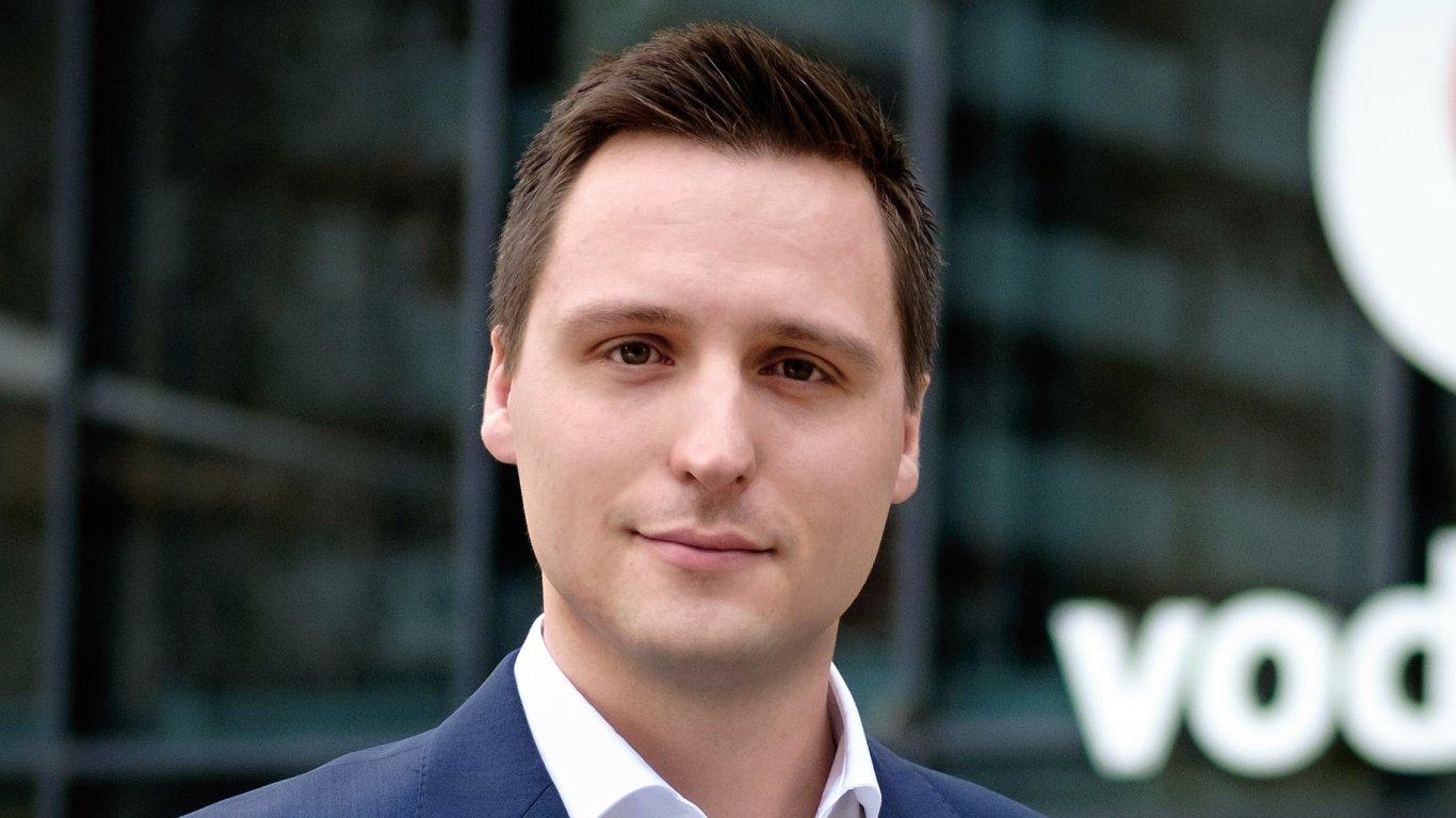 Michal Müller, obchodní ředitel pro firemní zákazníky společnosti Vodafone ČR