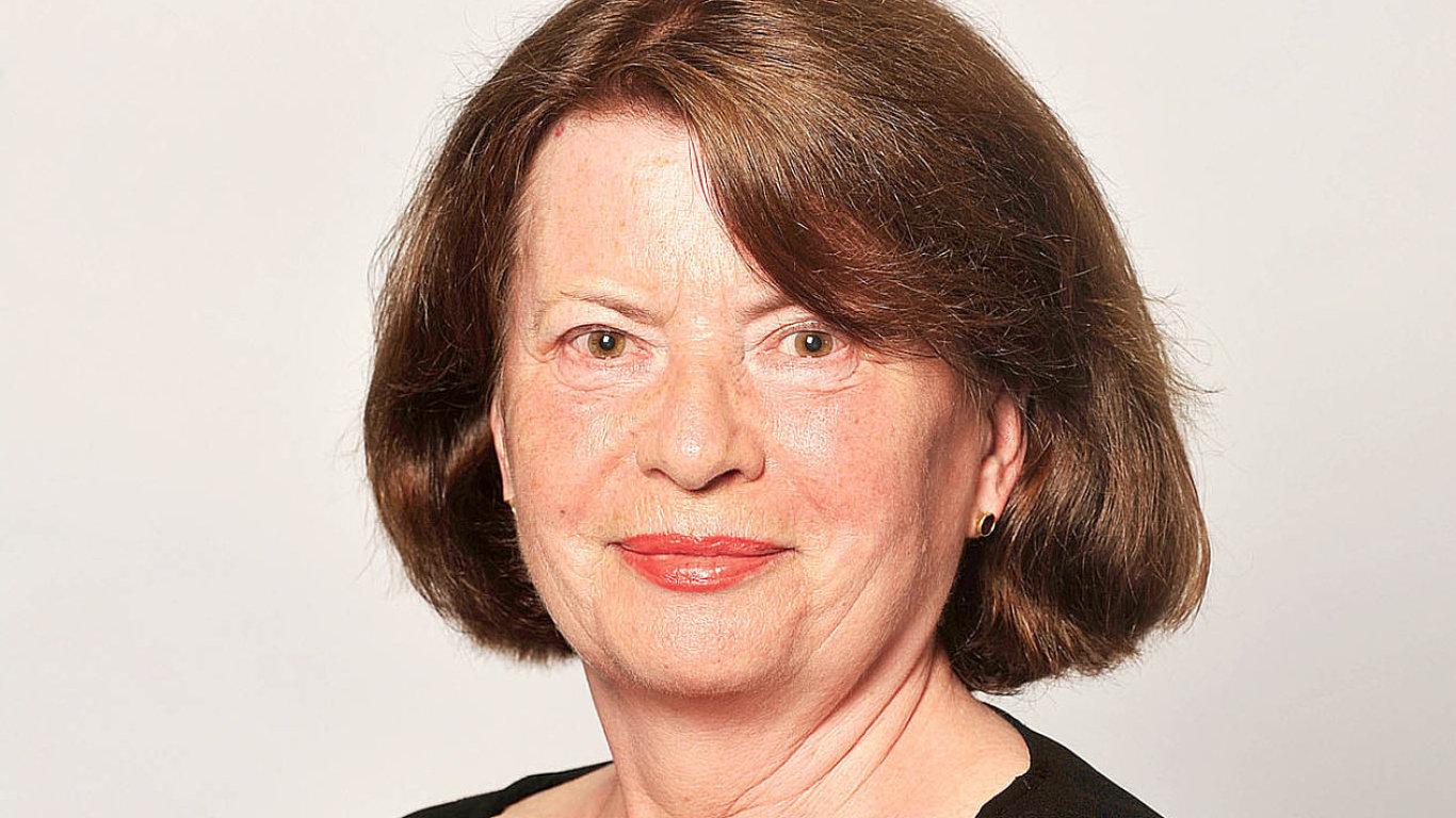 Naďa Klevisová, redaktorka časopisu ego! a dlouholetá spolupracovnice Hospodářských novin a vydavatelství Economia