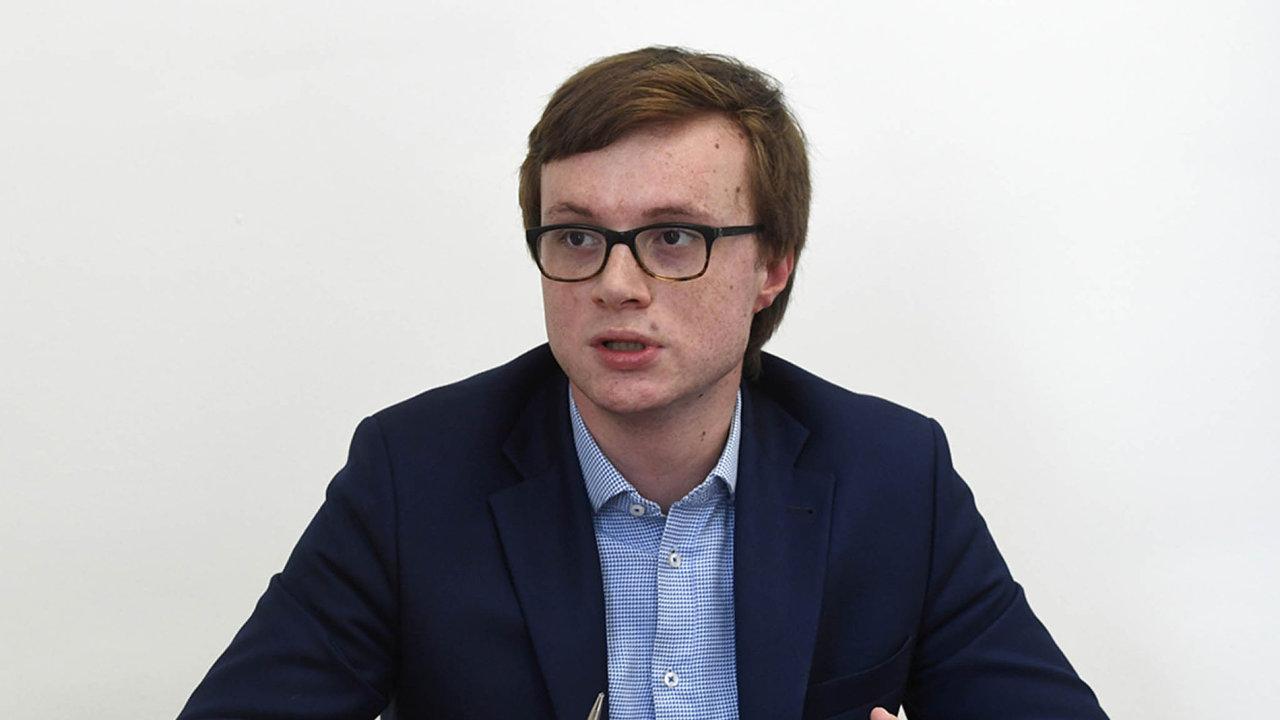 Aleš Chmelař, státní tajemník pro evropské záležitosti.