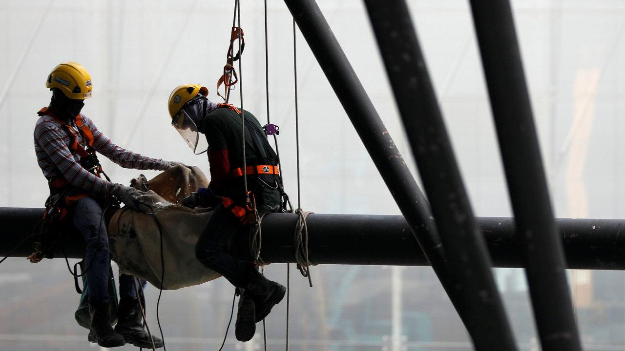 Vliv na výsledek stavební výroby měl nižší počet pracovních dnů oproti loňskému březnu.