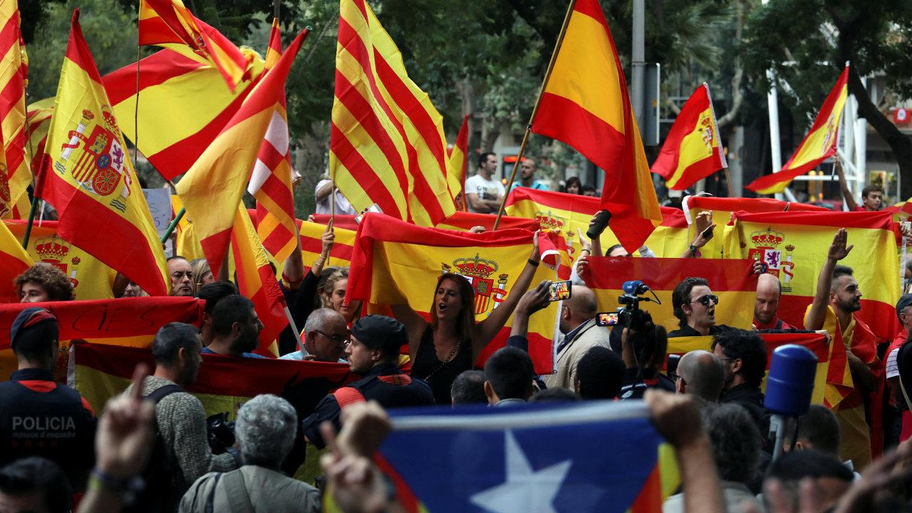 Katalánsko referendum Španělsko