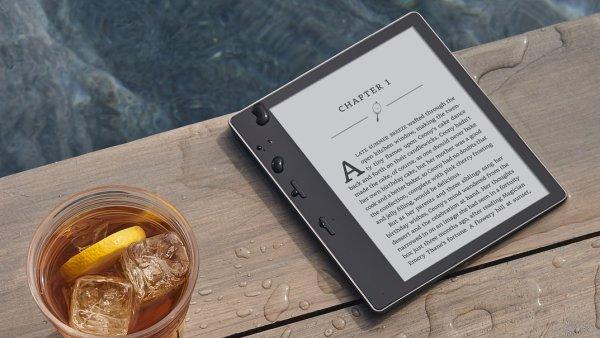 Druhá generace čtečky Kindle Oasis je vodotěsná
