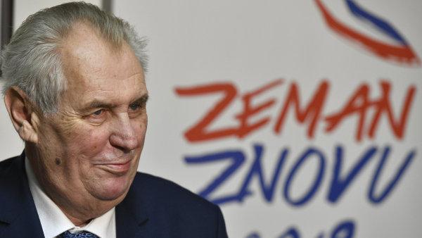 Miloš Zeman, který o víkendu obhájil post prezidenta, před volbami prohlašoval, že nepovede volební kampaň.