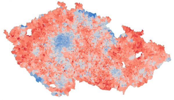 Prezidentské volby 2018 - výsledky v obcích