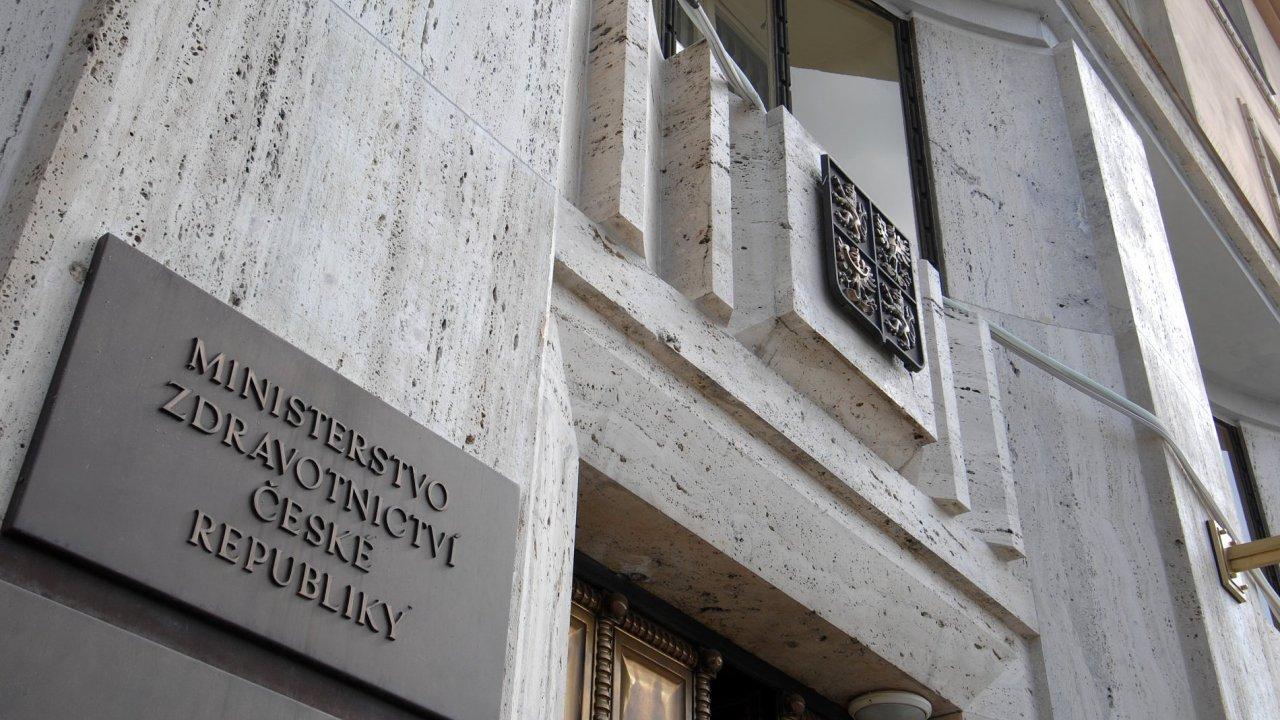 Ministerstvo zdravotnictví - Ilustrační foto.