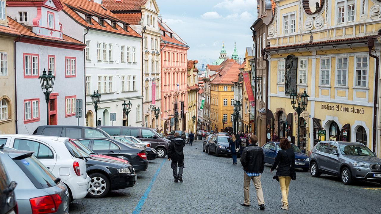 Staré domy, pavlačové byty, Praha Staré Město - ilustrační foto