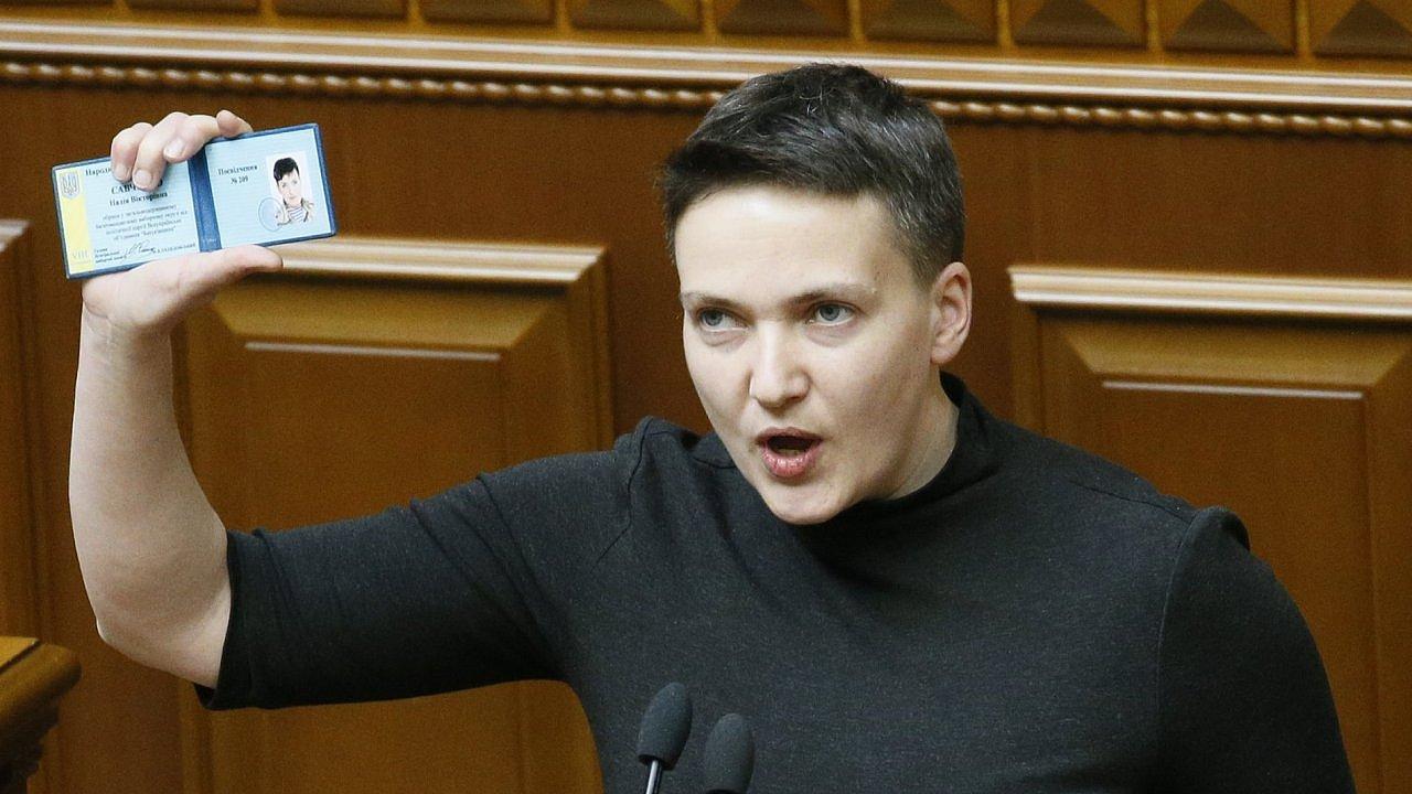 Nadija Savčenková Ukrajina
