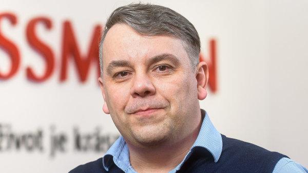 Marek Těthal, ředitel prodeje společnosti ROSSMANN
