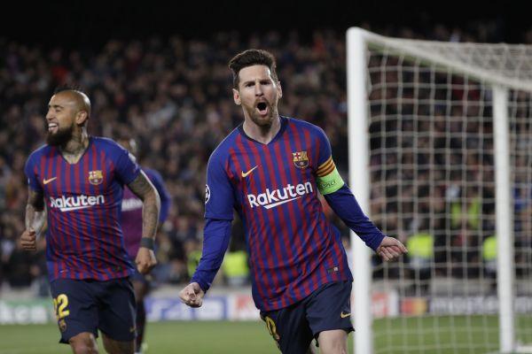 Tři góly jako jeho velký rival sice nedal, ale i přesto Lionel Messi dokázal na úterní hattrick Cristiana Ronalda z Juventusu najít rychlou odpověď.