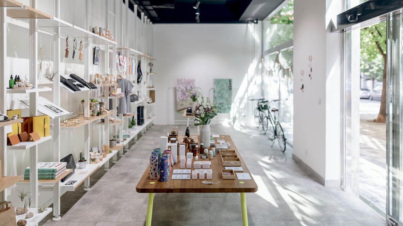 Sdílený prodejní prostor snázvem Shop Up Stories