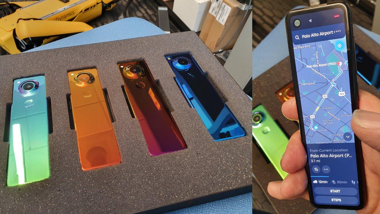 Prototyp telefonu Gem používal výrazně upravený Android, sliboval úplně jiný zážitek z používání smartphonu.