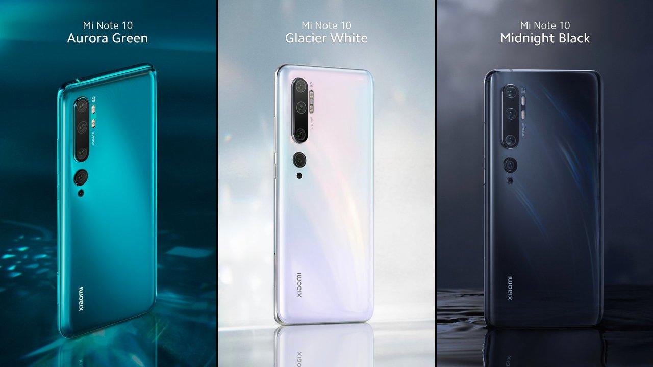 Note 10 je primárně fotomobil. Xiaomi s ním chce dobýt pozice na evropském trhu, které kvůli sankcím ztrácí Huawei.