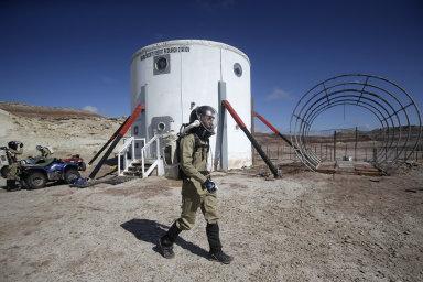 Mars Desert Research Station vznikla v roce 2001 a má simulovat podmínky na nehostinné planetě, především na Marsu.