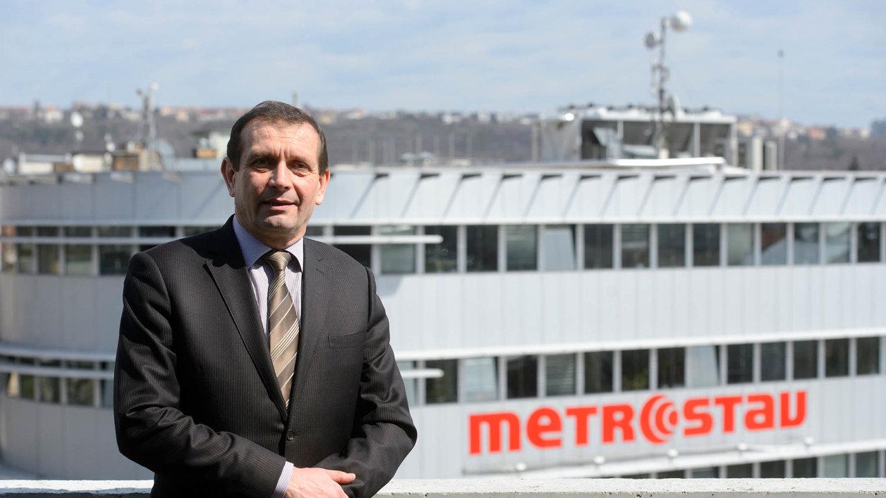 Ředitel Metrostavu Pavel Pilát.