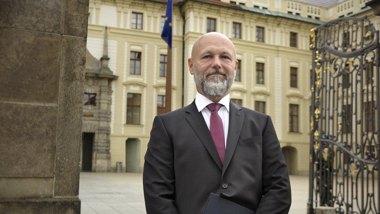 Předseda Nejvyššího soudu Petr Angyalossy