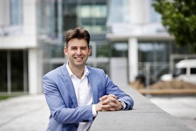 Tomáš Jandík, předseda představenstva REICO investiční společnosti České spořitelny, spravující ČS nemovitostní fond (ČSNF)