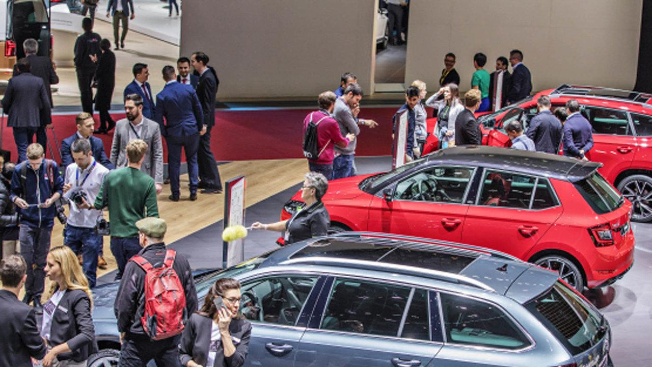 Úspěšná je vČesku především největší tuzemská automobilka Škoda Auto.