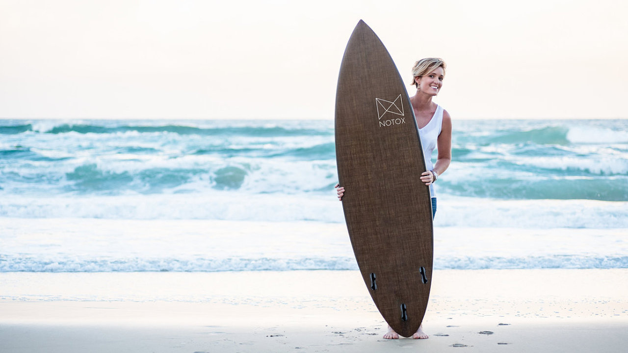 Ekologické surf prkno od firmy Notox