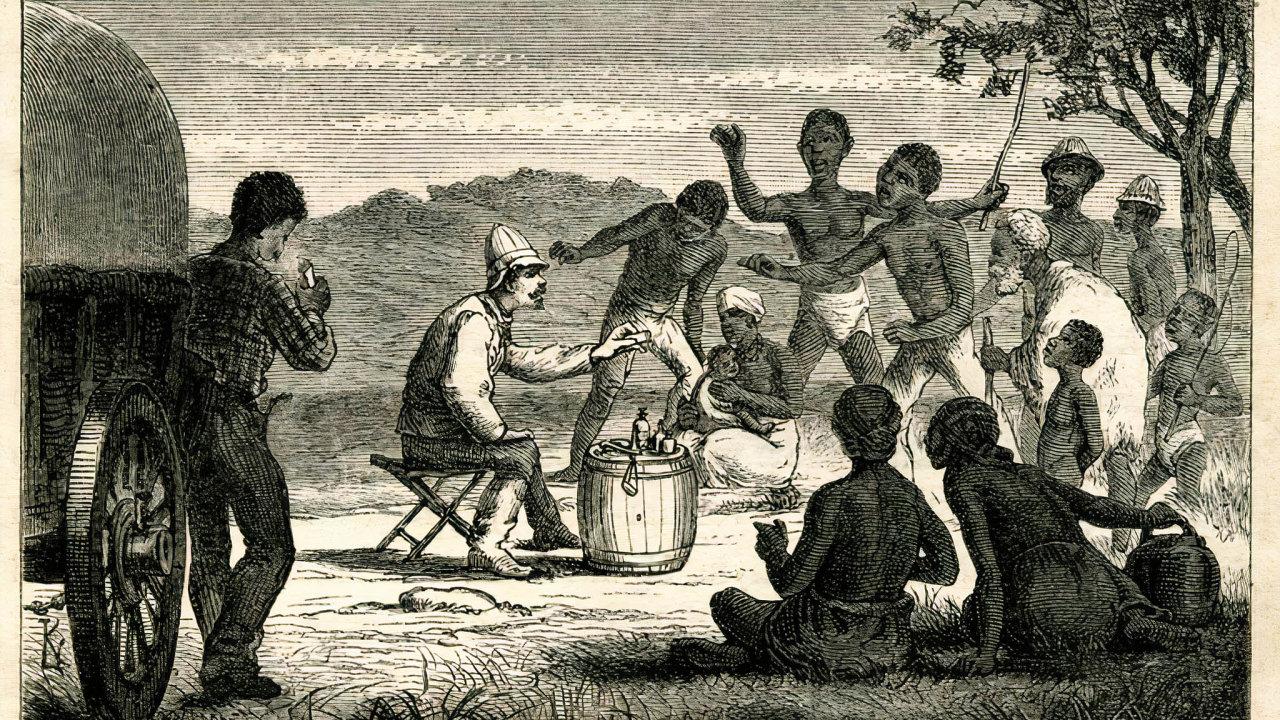 Vjižní Africe vpovodí Zambezi, kde cestovatel Emil Holub působil jako lékař koncem 19. století, plánoval získat část území, přivést sem české kolonisty avytvořit nové odbytiště pro výrobky zČech.