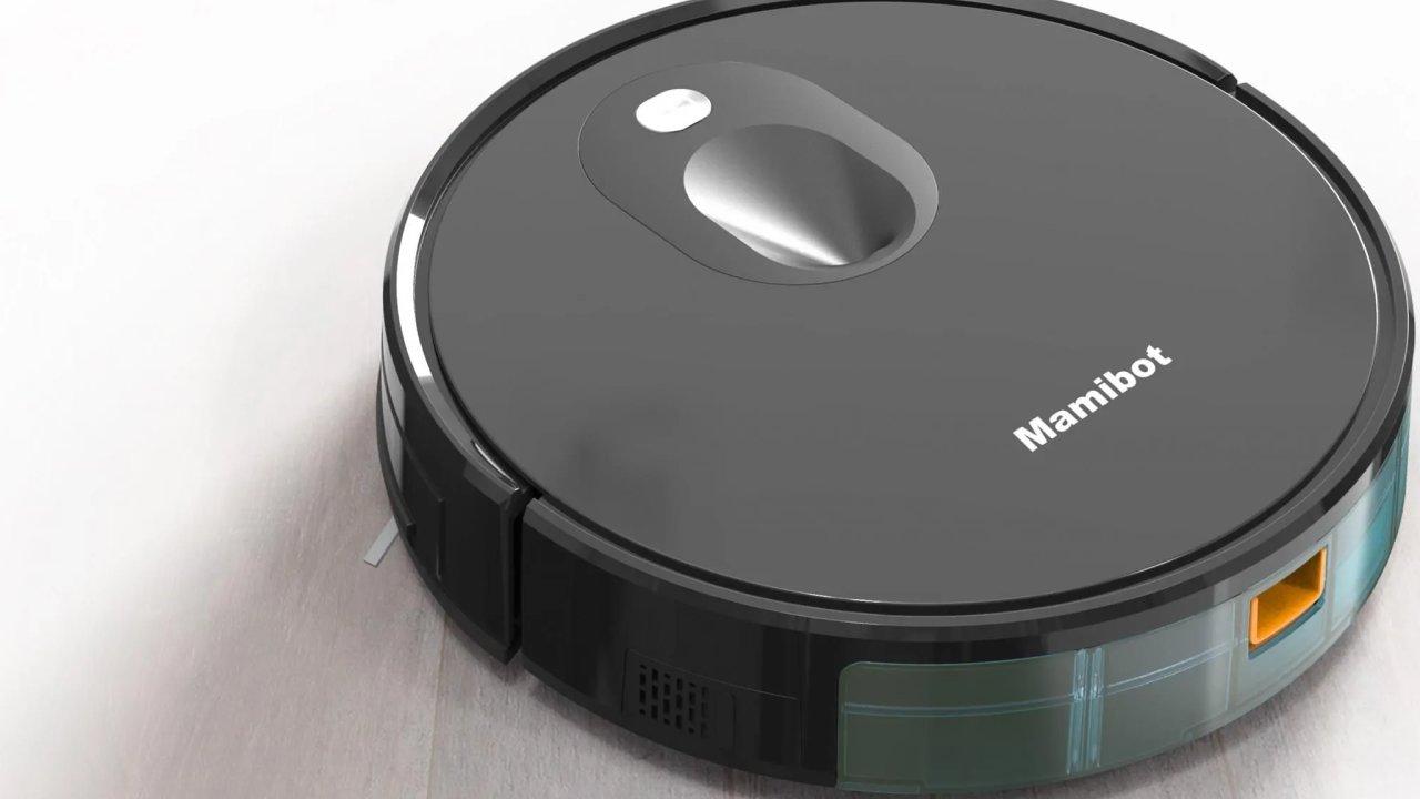 Uklízecí robot Mamibot Exvac680s zamete, vysaje a skoro vytře.