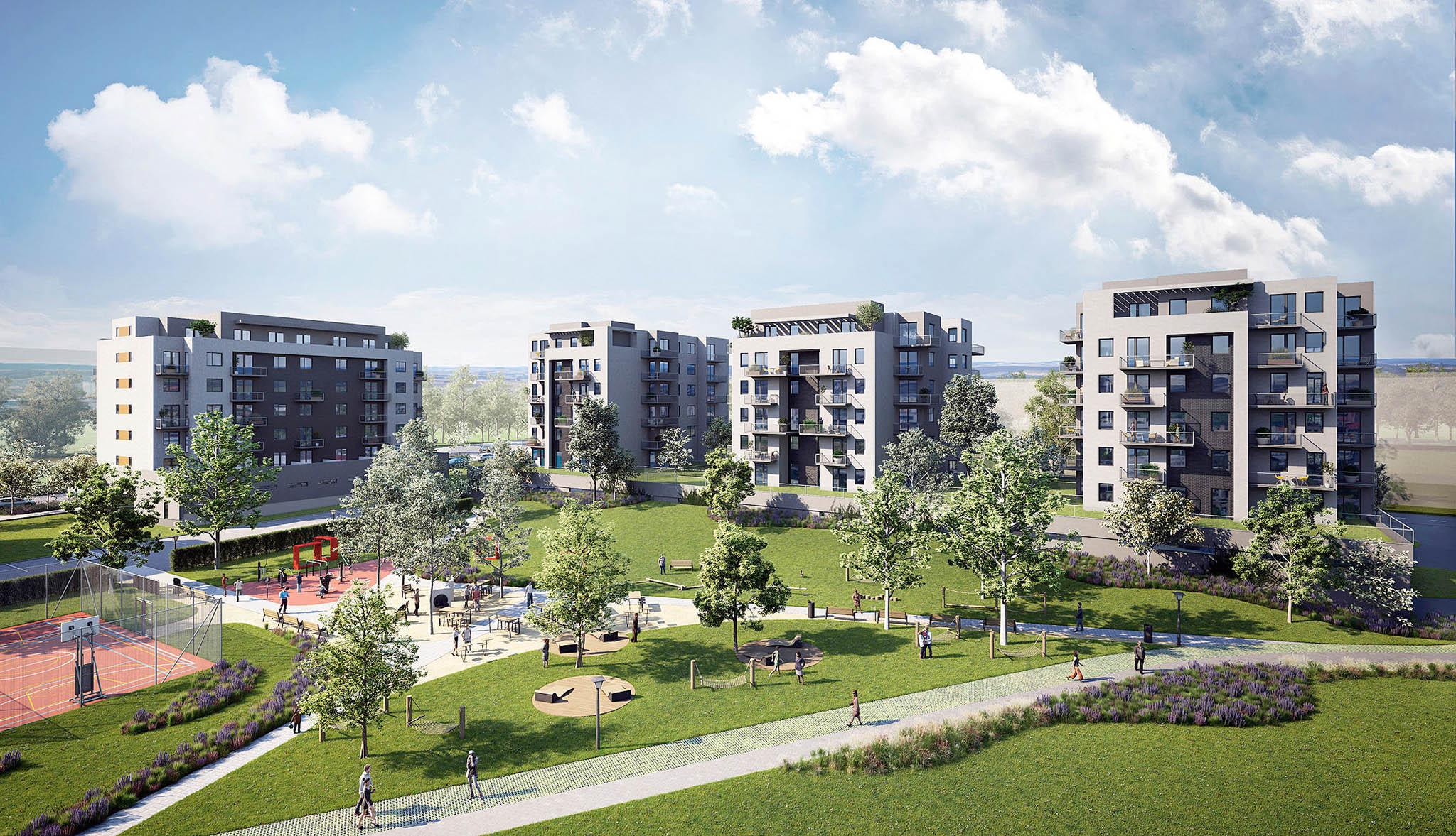 Projekt Unicity Plzeň společnosti Daramis, který vyrůstá vmetropoli západních Čech, nabízí jak byty naprodej, tak napronájem.