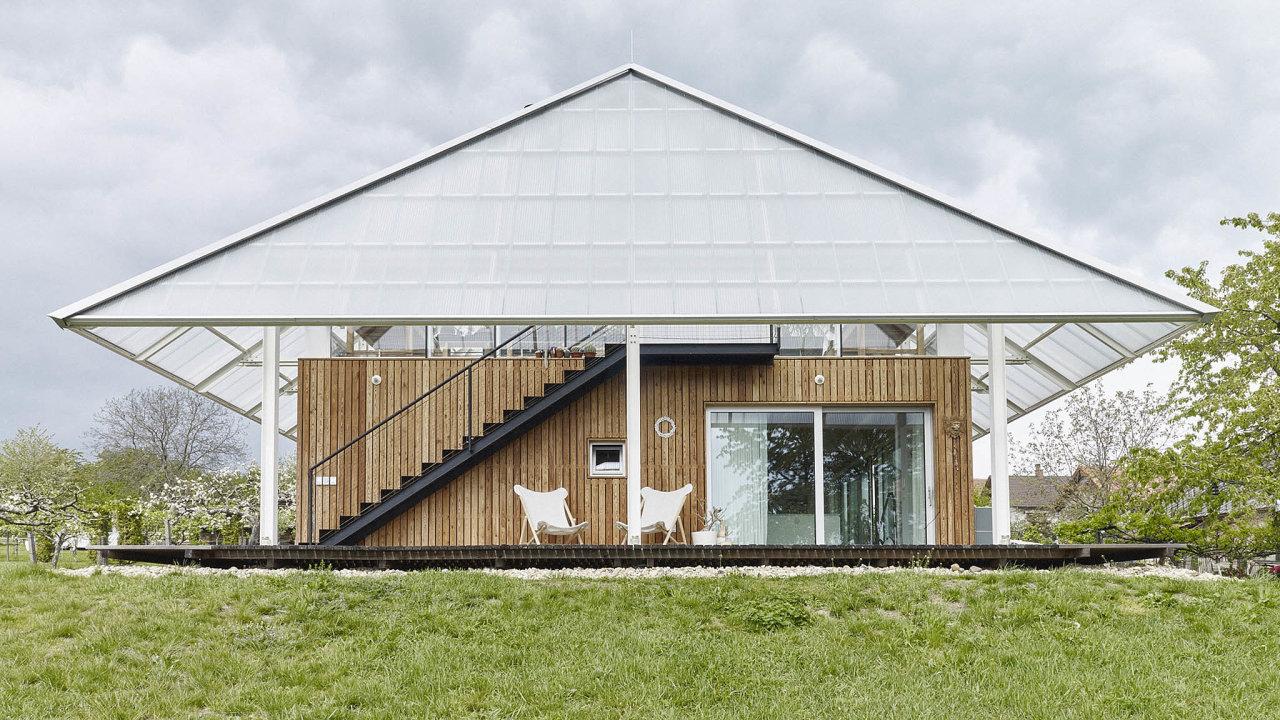 Dům se skleníkem, RicharDavidArchitekti (2018)
