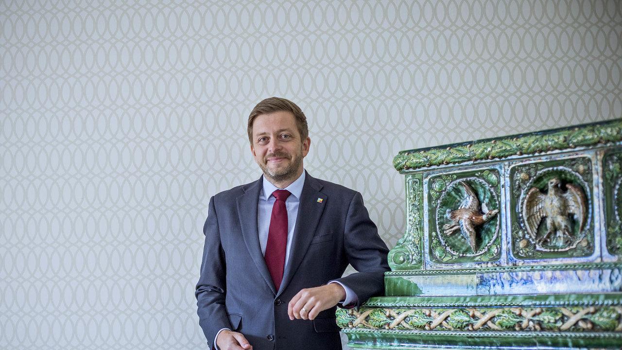Vít Rakušan, poslanec a od roku 2019 předseda hnutí STAN.