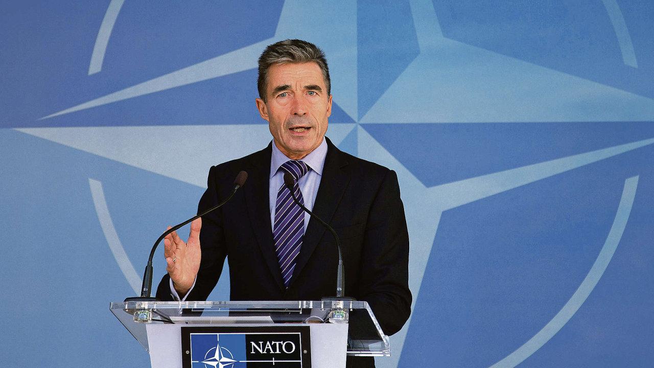 Generální tajemník NATO Anders Fogh Rasmussen