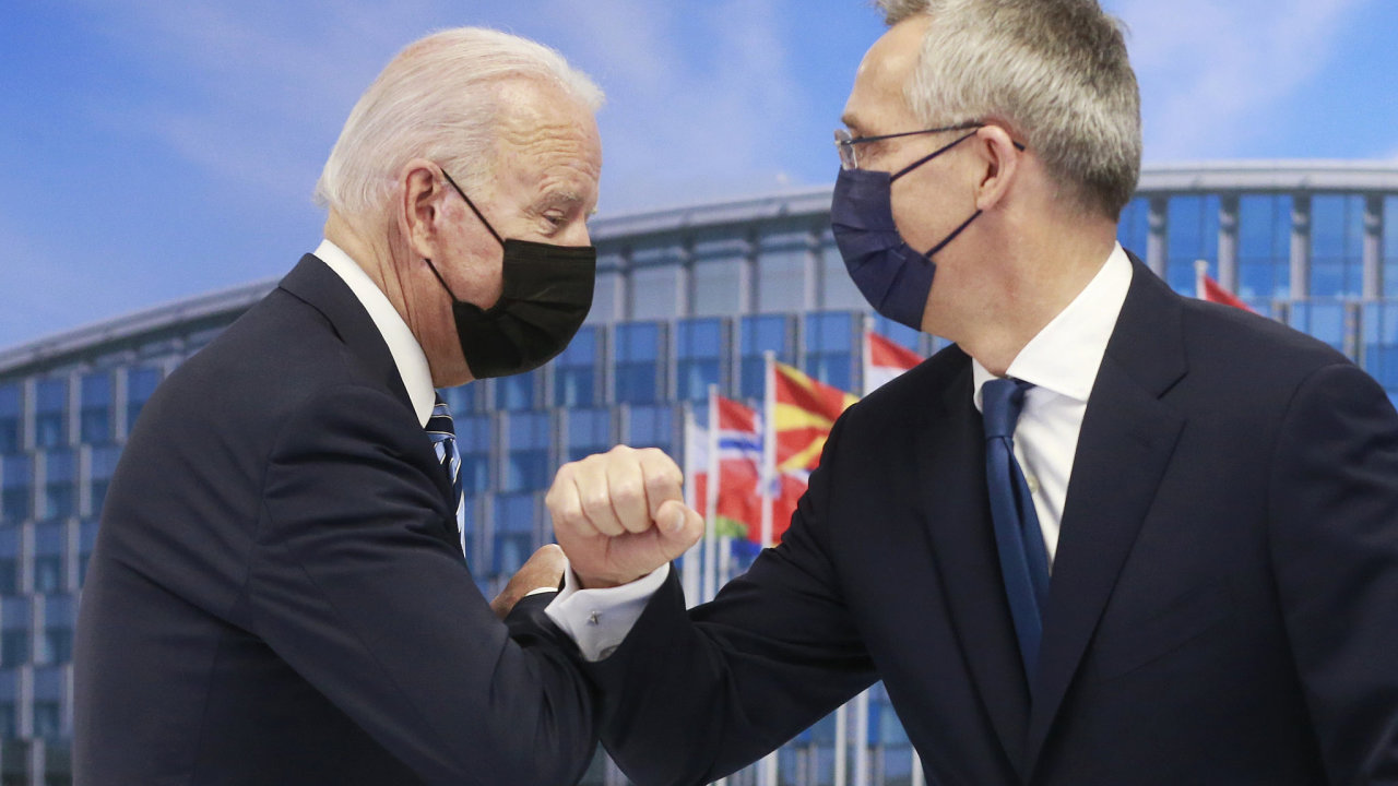 NATO Biden Stoltenberg