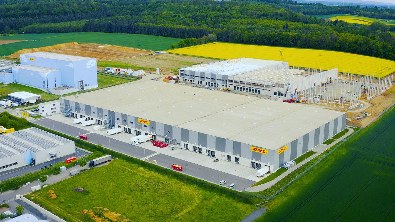 Vizualizace nového logistického centra ve Floridstadtu.
