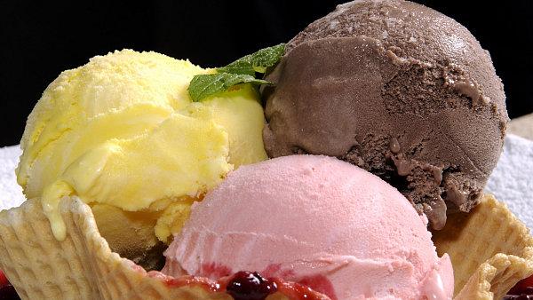 zmrzlina - ilustrační foto