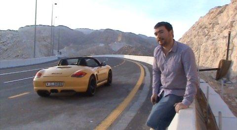 Silnice Jebel Hafeet v Abú Dhabi