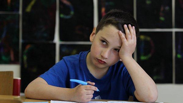 Testování žáků, ilustrační foto