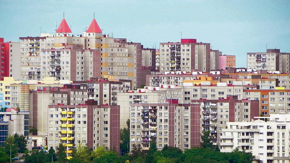 Sídliště v Praze-Barrandově