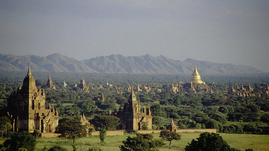Bagan, Barma, ilustrační foto