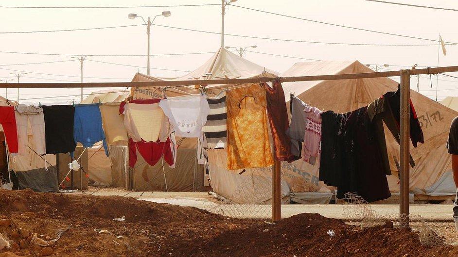 Uprchlický tábor Zaatari
