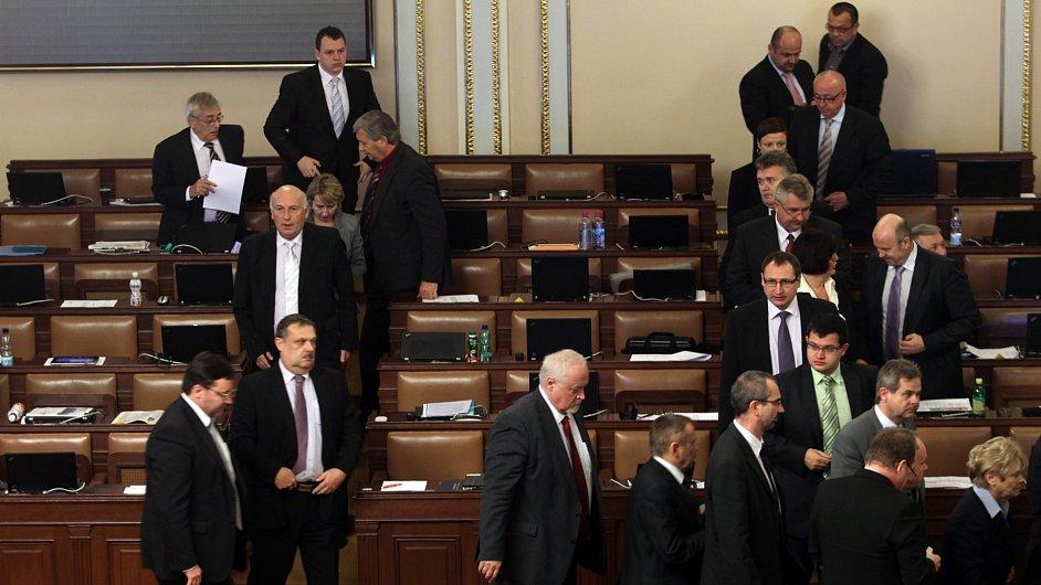 Poslanci (ilustrační foto)