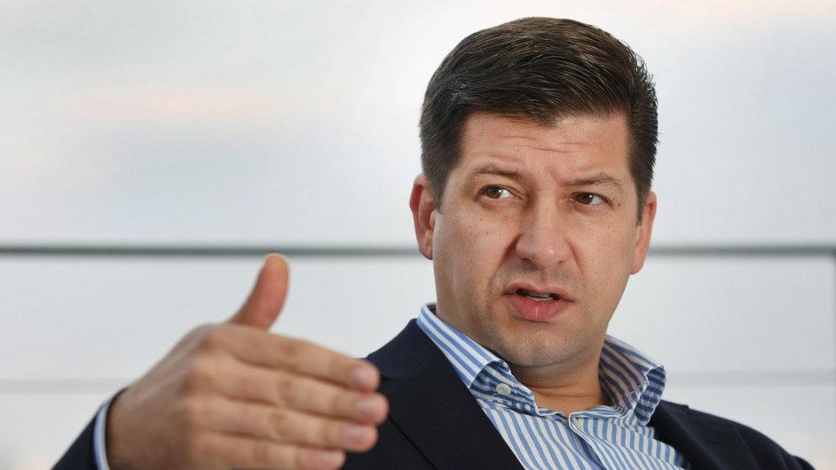 Generální ředitel TV Nova Jan Andruško. Bývalý?