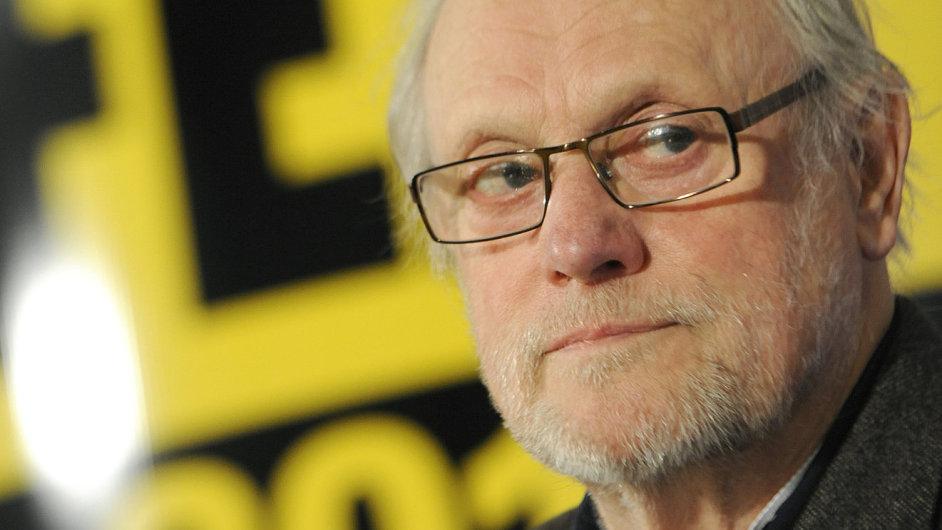 Švédský režisér Jan Troell vystoupi na tiskové konferenci Febiofestu.