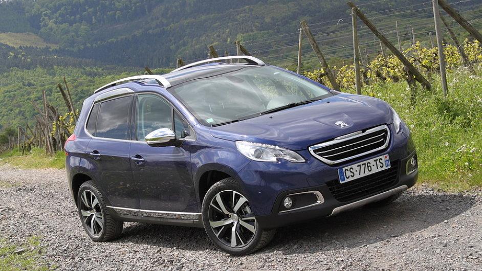 Peugeot 2008 - úspěšné malé SUV, které vůbec nenabízí pohon všech kol